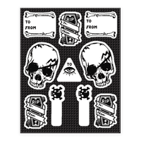 Occult Gift Tags Sticker