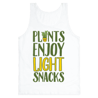 Plants Enjoy Light Snacks