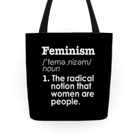 Feminism Definition Tote