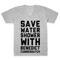 Save Water Shower with Benedict Cumberbatch