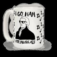 I Go Ham For Musicals Mug