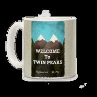 Twin Peaks Population Sign