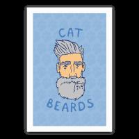Grey Cat Beards