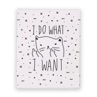 I Do What I Want Canvas