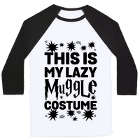 This is My Lazy Muggle Costume