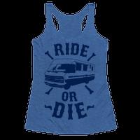 RV Ride Or Die Racerback