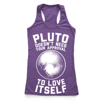 Pluto Doesn't Need Your Approval to Love Itself