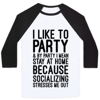 Socializing Stresses Me Out