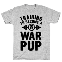 Training to Become a War Pup