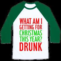 Getting Drunk For Christmas Baseball