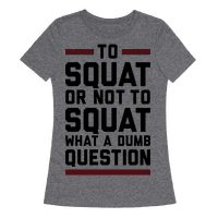 To Squat Or Not To Squat