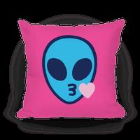 Blowing Kiss Alien Emoji