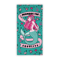 Mermaids For Equality Feminists Towel