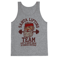 Santa Lifting Team