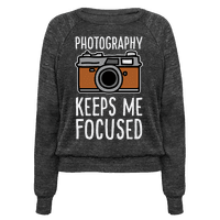 Photography Keeps Me Focused