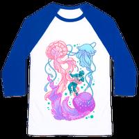 Deep Sea Diver & Jellyfish