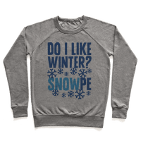 Do I Like Winter? Snow-pe