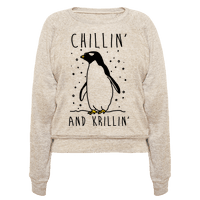 Chillin' And Krillin' Penguin