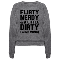 Flirty Nerdy and a Little Dirty
