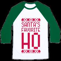 Santa's Favorite Ho Baseball