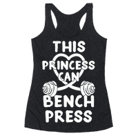 This Princess Can Bench Press