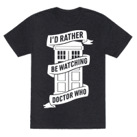 I'd Rather Be Watching Doctor Who