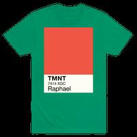Raphael Color Swatch Parody