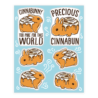 Cinnabunny Sheet Sticker