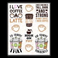 Coffee Pun Sticker