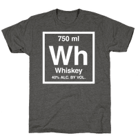 Whiskey Element (Periodic Alcohol) (White Ink)