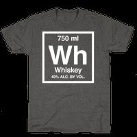 Whiskey Element (Periodic Alcohol) (White Ink)