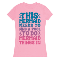 This Mermaid Needs To Find A Pool