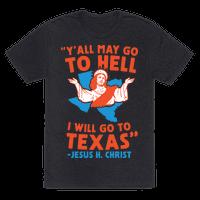 Texas Jesus Tee