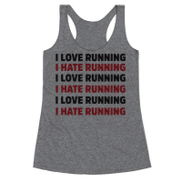 I Love Running I Hate Running