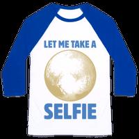 Pluto Selfie Baseball