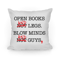 Open Books And Legs, Blow Minds And Guys