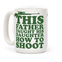 This Father Taught His Daughter How to Shoot Mug