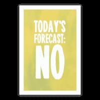 Today's Forecast: NO