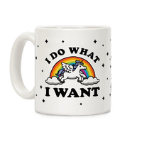 I Do What I Want (Unicorn Mug)