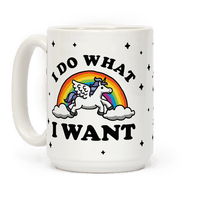 I Do What I Want (Unicorn Mug) Mug