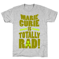 Marie Curie Is Rad