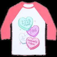 Sherlock Valentines Candy Hearts