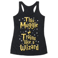 This Muggle Trains like a Wizard