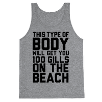 This Type of Body Will Get You 100 Gills On The Beach