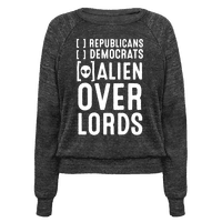 Vote Alien Overlords Pullover