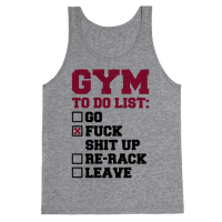 Gym To Do List