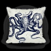 Vintage Octopus (Navy)