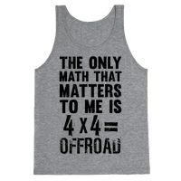 4 X 4 = Offroad! (The Only Math That Matters)