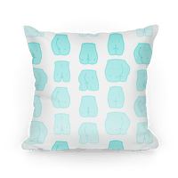 Teal Pastel Butt Pattern