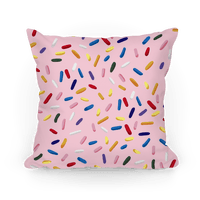 Sprinkle Pillow (Strawberry)
